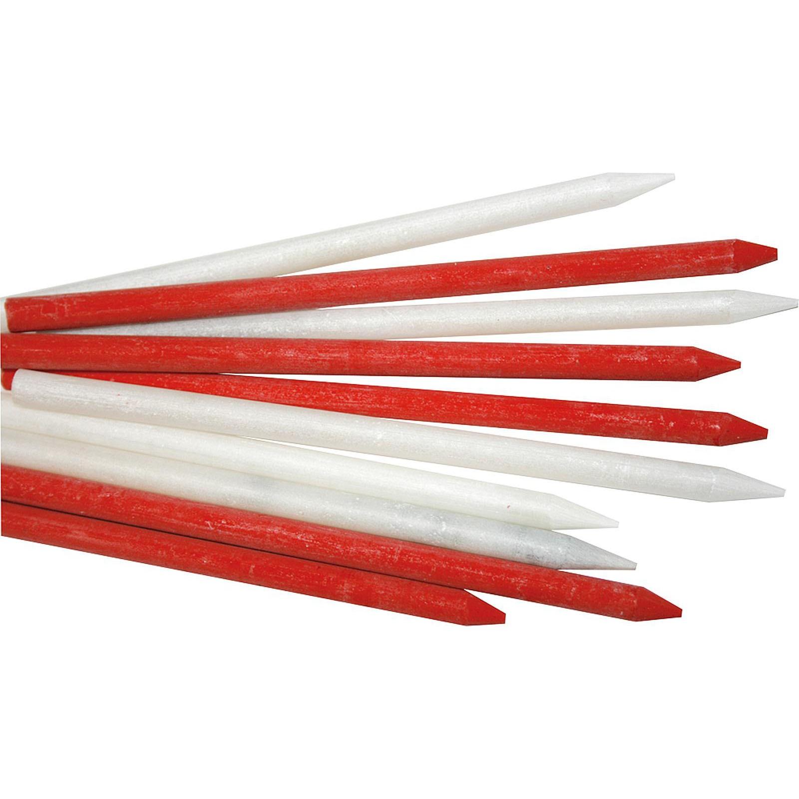 bleispitz schwei marker markierstift markierungsstifte rot wei 17 teilig ebay. Black Bedroom Furniture Sets. Home Design Ideas