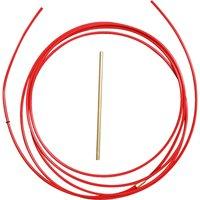 Teflonseele - PTFE Seele rot 001