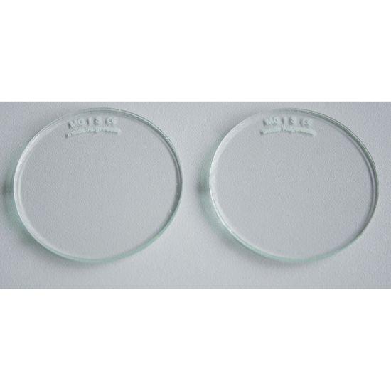 Brillengläser splitterfrei, 2 Stk.