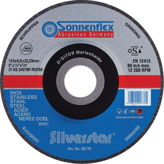 Silverstar Inox Schruppscheibe
