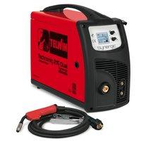 TELWIN Technomig 215 Dual Synergic MIG/MAG/WIG/MMA Multiprozess Schweißgerät 001