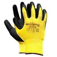 Nylon-Strickhandschuhe Latex W2220