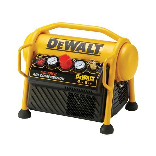 DeWALT Mobiler Kompressor DPC6MRC-QS 1,5 PS 6 L, 5 m Luftschlauch
