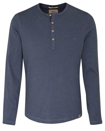 HENLEY Langarm-Shirt