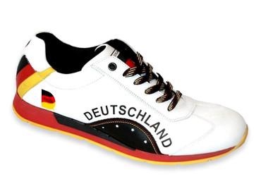 Deutschland Fan Sneaker Herren – Bild 1