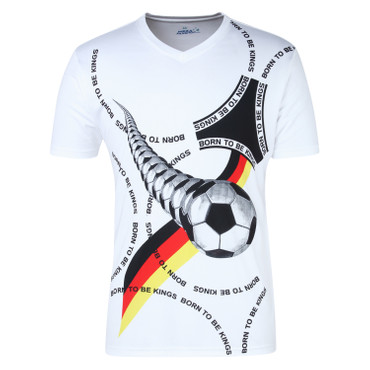 Germany Fan Jersey Cotton – Bild 1