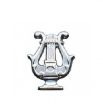 Metallabzeichen kleine Lyra