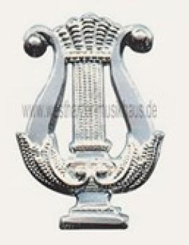 Metallabzeichen Lyra