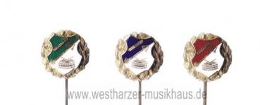 Emailleabzeichen Spielmannszug Bronzekranz