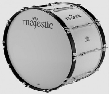"MAJESTIC 24"" x 14"", Metallteile verchromt, Bass Drum ENDEAVOR"