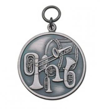 Medaille für Blasorchester, 39 mm Ø