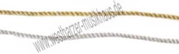 Kragenkordel 1-farbig vollgedreht 2,5 mm stark