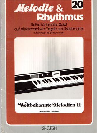 Melodie & Rhythmus, Heft 20, Weltbekannte Melodien II