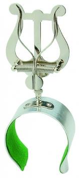 Marschgabel Flöte, Lyra mittel, mit Armspange