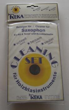 REKA Cleaning-Set für Alt- und Tenor-Saxophon, Bassklarinette