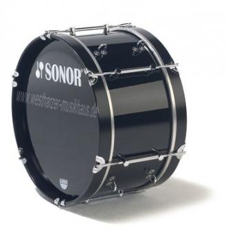 """SONOR Bass Drum 26x12"""", schwarz"""