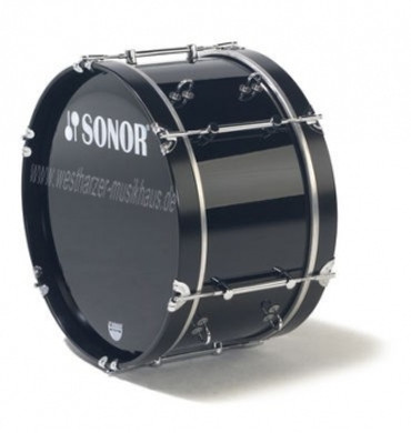 "SONOR Bass Drum 26x14"", schwarz"