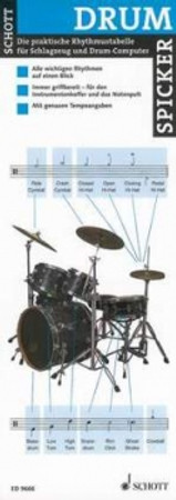 Spicker: Drums, ED 9666