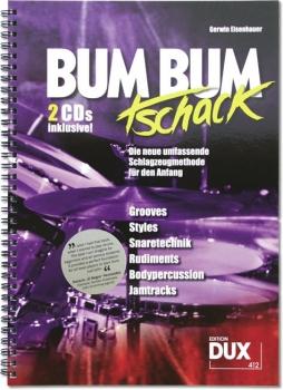 Bum Bum Tschack - Schlagzeugschule, D 412