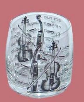 Glas, Motiv: Violine