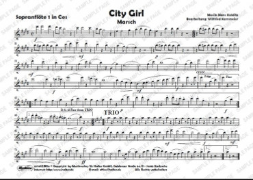 City Girl, WH 2170SZ/BO6