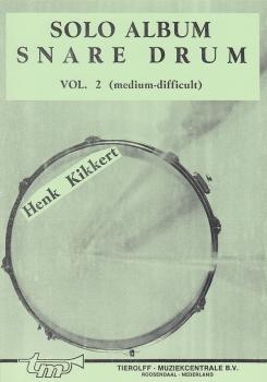 Solo Album Snare Drum, Henk Kikkert, Band 2, TR SA/MD – Bild 1