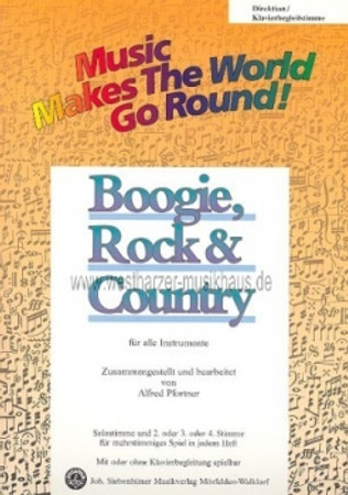 Boogie, Rock, Country, JS 21600