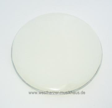 STABIL 29,2 cm Schlagfell, halbtief, weiß, glatt