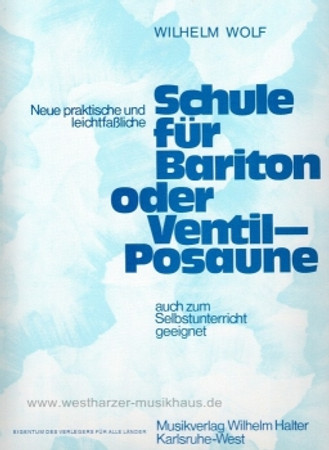 Baritonschule, WH 565