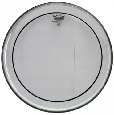 "REMO 16"" Pin-Stripe transparent"
