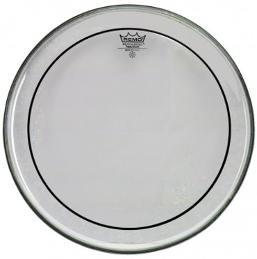 "REMO 28"" Pin-Stripe transparent"