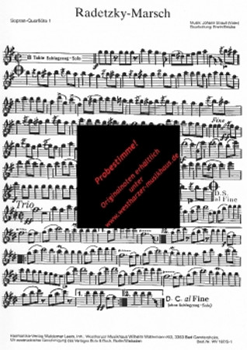 Radetzky-Marsch, WV 187 – Bild 1