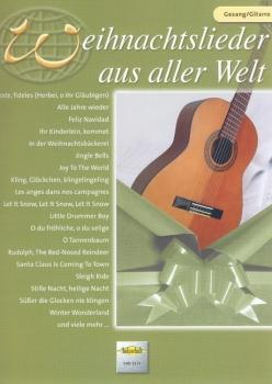 Weihnachtslieder aus aller Welt, Gesang/Gitarre, VHR 3511