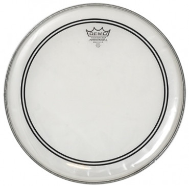 "REMO 13"" Powerstroke 3 transparent mit CS-Dot"