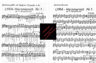 Lyra Hornmarsch Nr. 1, 3070090