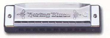 Hering Mundharmonika Hering Blues, Tonart D