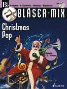 Bläser-Mix, Christmas Pop, B-Stimme, ED 9445 – Bild 1