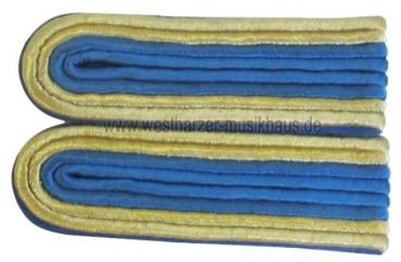 Schulterstücke Gold-Blau/Blau