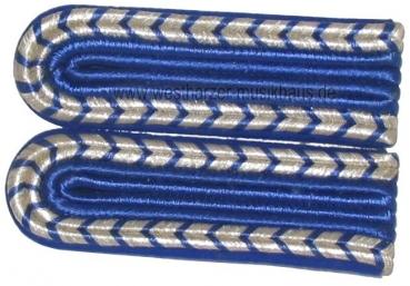 Schulterstücke mit Nationale Silber/Blau