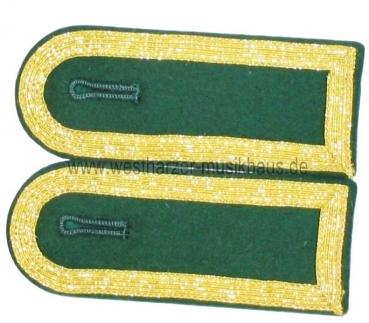Schulterstücke Gold/Grün