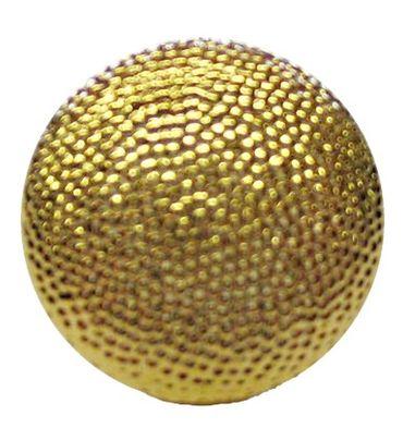 Uniformknopf gekörnt goldfarbig ca. 21 mm Ø