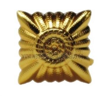 Dienstgradstern ca. 21 mm Ø goldfarbig