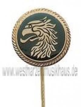 Abzeichen für Schützen, vergoldet mit langer Nadel, SA 72911
