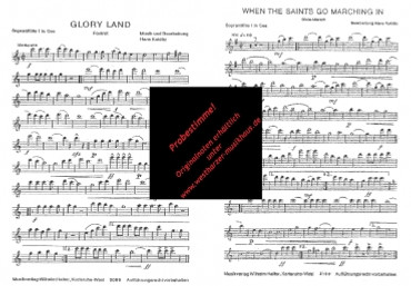 Gloryland, When the saints go marching in (Doppelnummer), WH 2099, WH 2100