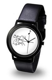 Armbanduhr Motiv Schlagzeug