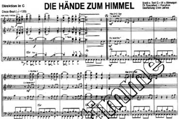 Die Hände zum Himmel, GK 01/38