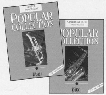 Popular Collection 6, Piano/Keyboard + Tenorsaxophon, D 1162