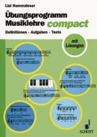Musiklehre compact, Übungsprogramm, ED 8837