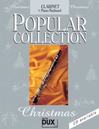 Popular Collection Christmas, Piano/Keyboard + Klarinette, D 1104