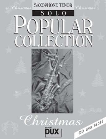 Popular Collection Christmas, Solo-Stimme Tenorsaxophon, D 11020